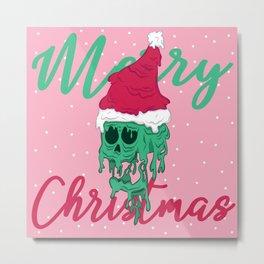 Melted Christmas Metal Print