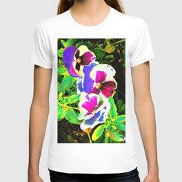 Floral Quasichrome T-shirt
