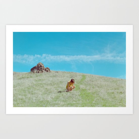 the breeze already knew Art Print
