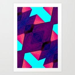 FRONT ROW Art Print