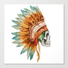 Skull 03 Canvas Print