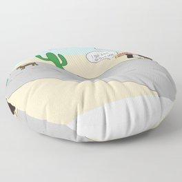 Desert 5-0 Floor Pillow