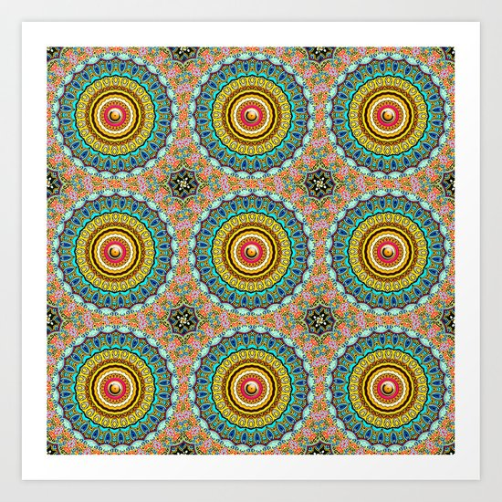 Panoply Pattern Art Print