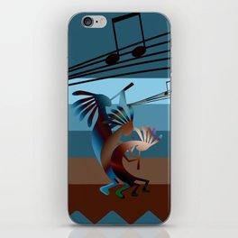 Southwest Kokopelli Music iPhone Skin