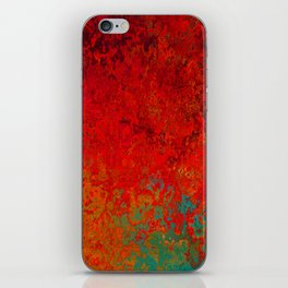 Figuratively Speaking, Abstract Art iPhone Skin