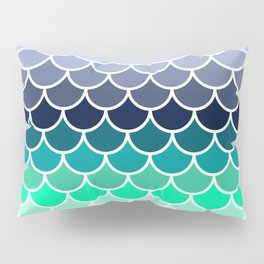 Mermaid tail Pillow Sham