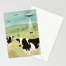 we all like burgers _ US AND THEM  Stationery Cards