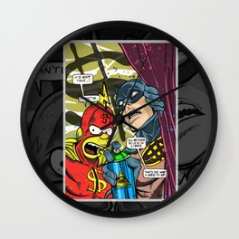 Defective Comic Issue 01 Wall Clock