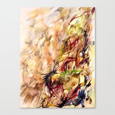 Autumnal Dialog Canvas Print