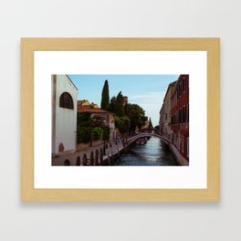 Afternoon in Giudecca Framed Art Print