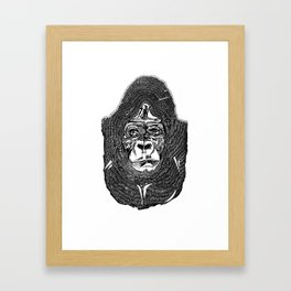 go ape Framed Art Print