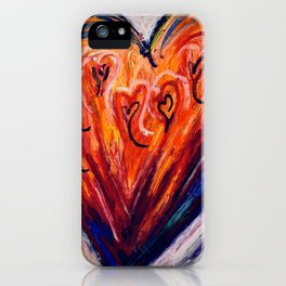 Love Conquers All iPhone Case
