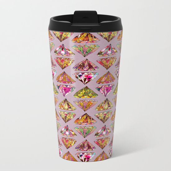 These Diamonds Are Forever Metal Travel Mug