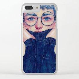 Sweater Clear iPhone Case