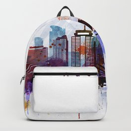 Auckland New Zealand Cityscape Backpack