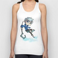 jack nicholson Tank Tops featuring Jack by Meekobits
