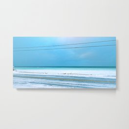 The Cold After the Storm Metal Print