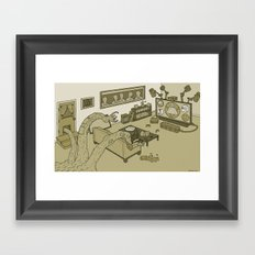 Modulus One Framed Art Print
