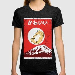 Vintage Japanese Cat Awesome Cute Black Cat Manga T-shirt
