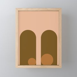 Modern Arches f3 Framed Mini Art Print