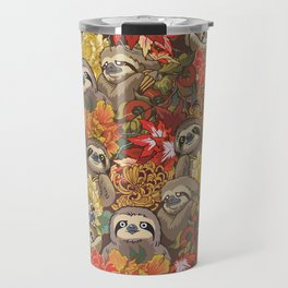 Because Sloths Autumn Travel Mug