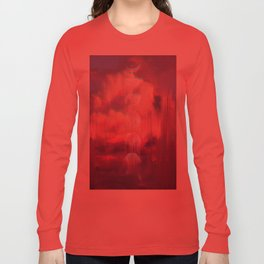 Moontime Glitches Long Sleeve T-shirt