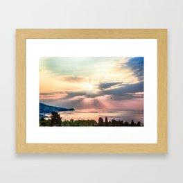 Sunny Framed Art Print