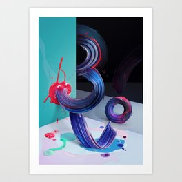 Atypical 3 Art Print