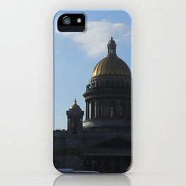 St. Isaac's Square. Saint Isaac's Cathedral. iPhone Case
