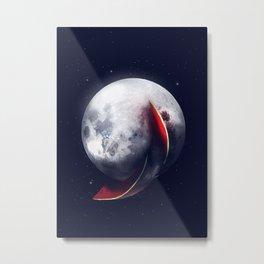 Watermelmoon Metal Print