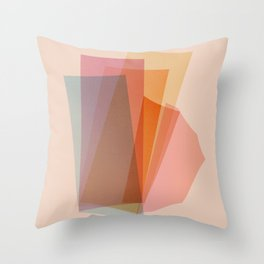 Abstraction_Spectrum Throw Pillow