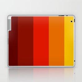 Multicolor Retro Strips Laptop & iPad Skin