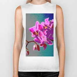 Orchid Biker Tank