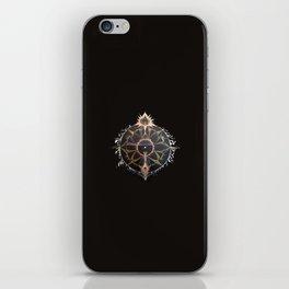 Saraswati Mandala Black iPhone Skin