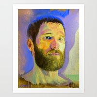 marc Art Prints featuring Marc-Andre by Bryan Keith Lanier