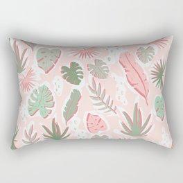 Tropical cut out pattern Rectangular Pillow