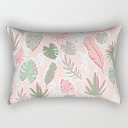 Tropical cut out pattern Rectangular Pillow