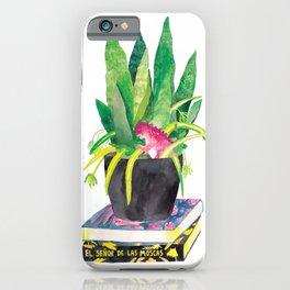 Plant Jungle Dinosaur Watercolor iPhone Case