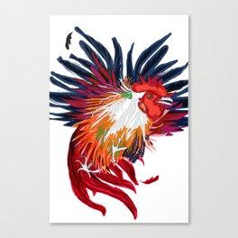 Fighting Cock Canvas Print