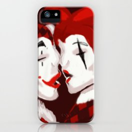 Harlequin Romance iPhone Case
