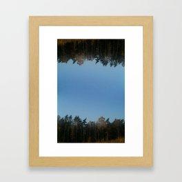 SPEGELTRÄDEN / MIRROR TREES Framed Art Print