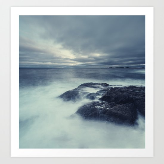 Washed in Atlantic Art Print