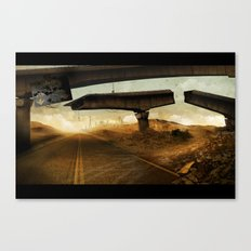 The Rope (hang on) Canvas Print