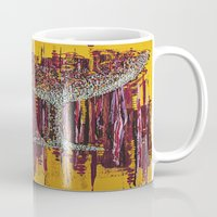 wine Mugs featuring :: Afternoon Wine :: by :: GaleStorm Artworks ::