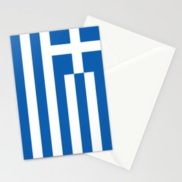 Flag of Greece Stationery Cards