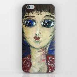 THE GIRL WHO PROTECTED OTHERS FROM TRENT iPhone Skin