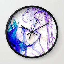 Dissolve into the sky Wall Clock