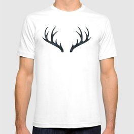 Antlers Black and White T-shirt