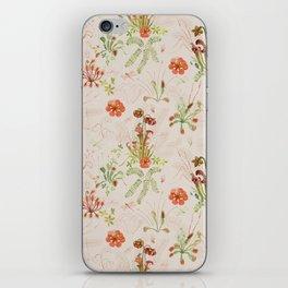 Carnivorous Floral iPhone Skin