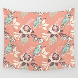 Silvestre bird Wall Tapestry